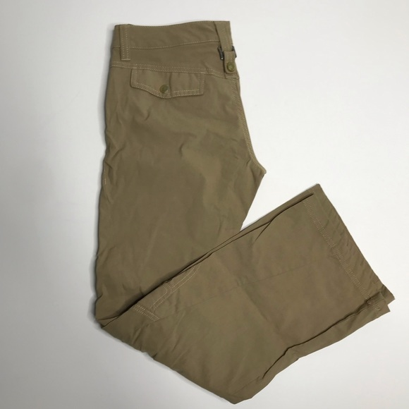 Athleta Pants - Athleta Dipper hiking pant in khaki sz 2p